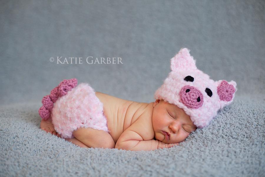 newborn piggy