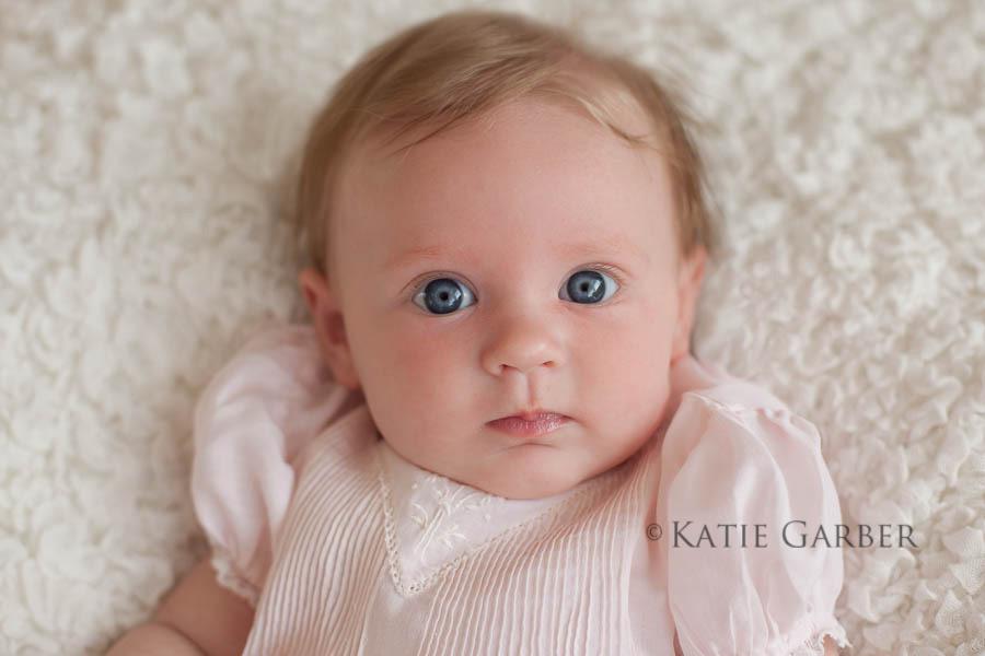 three month baby girl