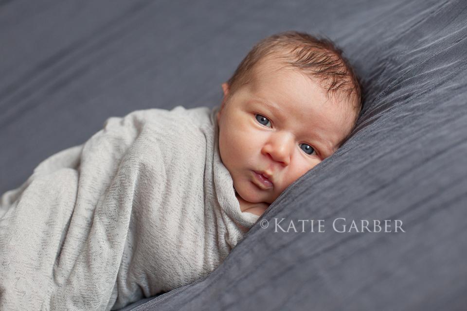newborn awake