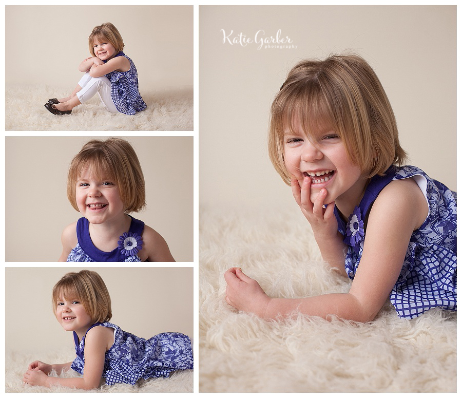preschool girl portraits