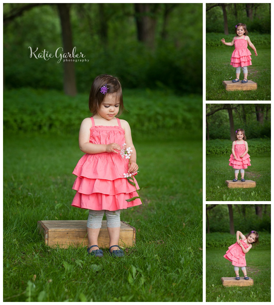 toddler portraits outdoor