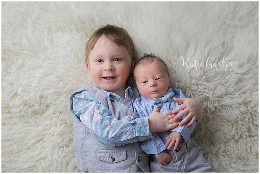 newborn sibling flokati