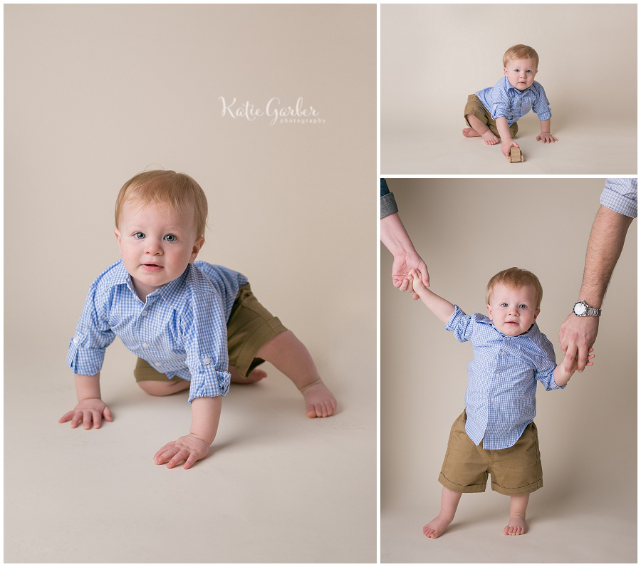 toddler boy studio portraits