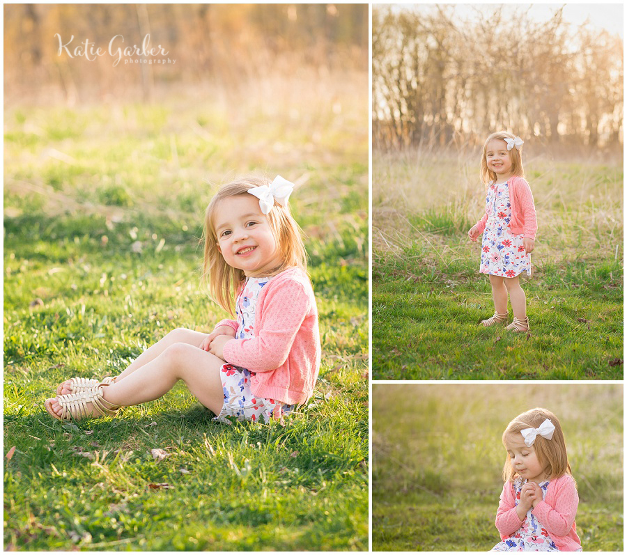 toddler girl outdoor portrait