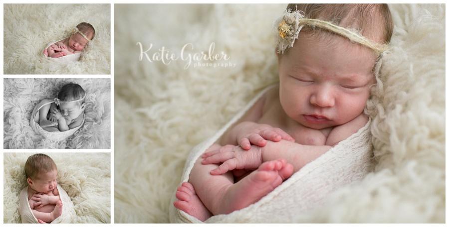 baby girl flokati