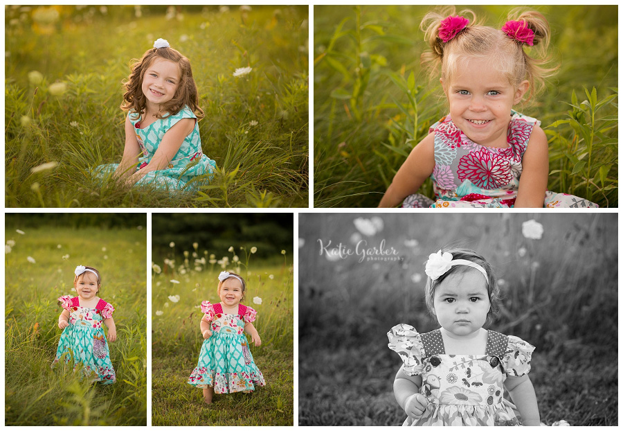 little girl outdoor portraits