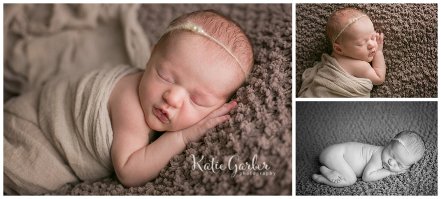 baby girl newborn portraits
