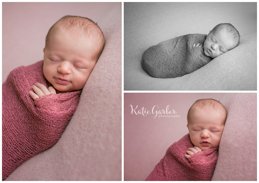 baby girl photos swaddled