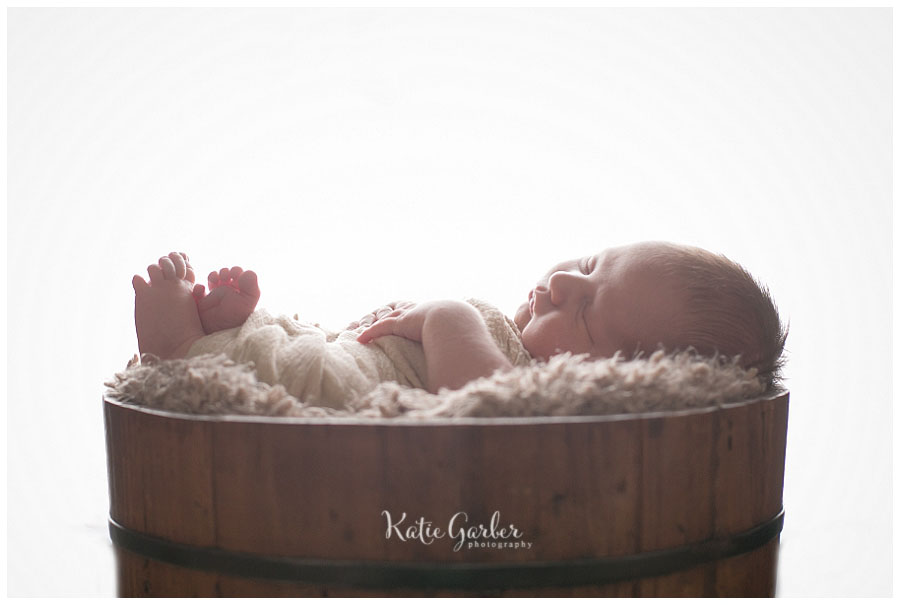 backlit newborn baby photo