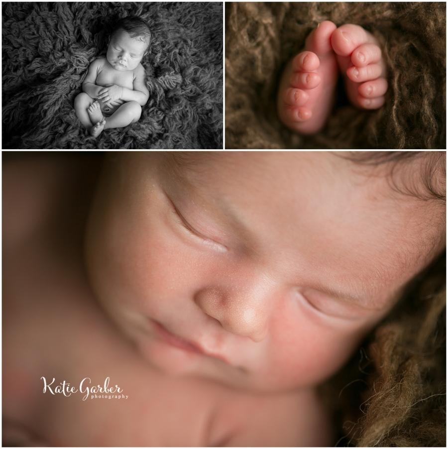 macro details baby boy