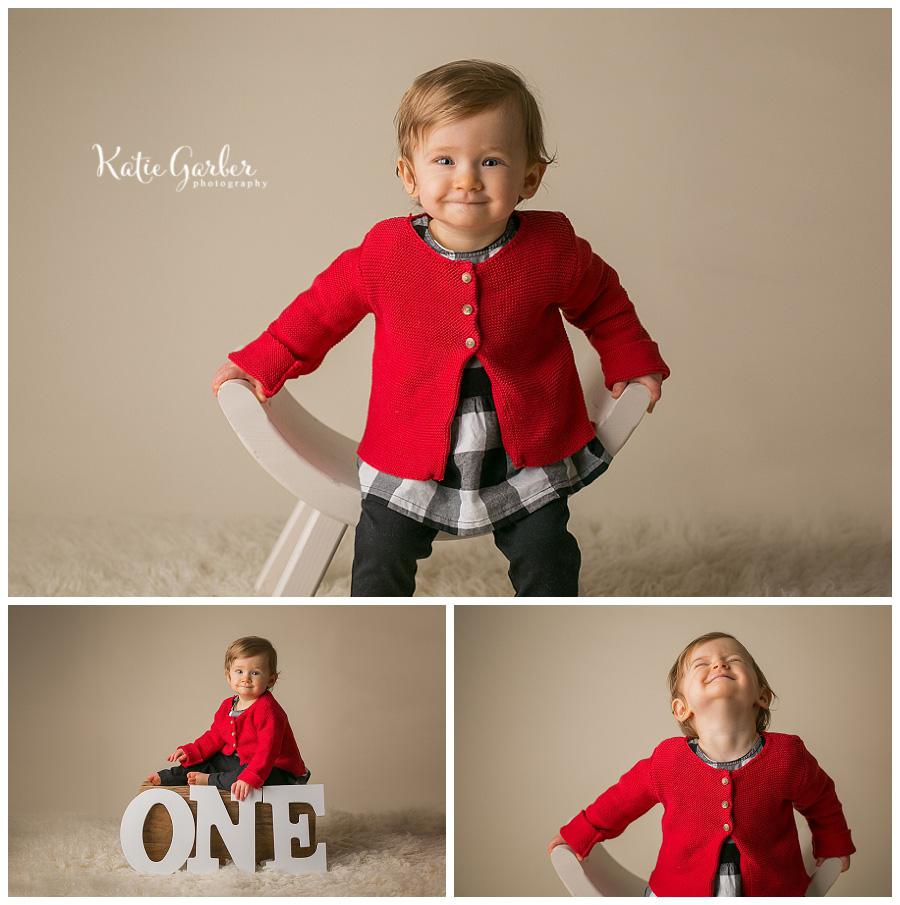 one year baby photo studio